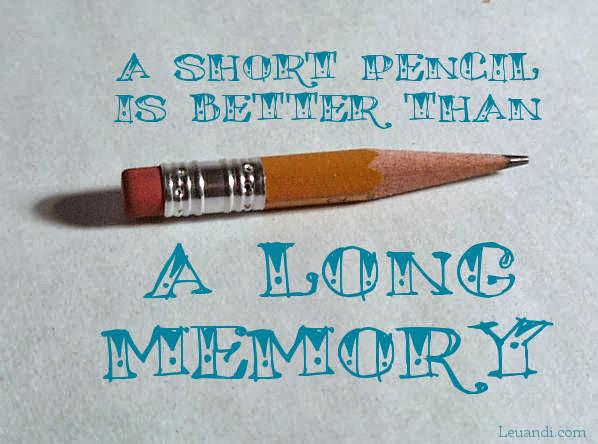 memory, pencil, data storage