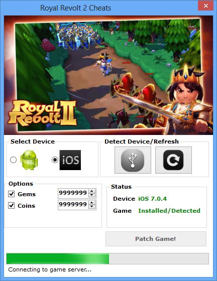 Royal Revolt 2 Hack & Cheats Tools