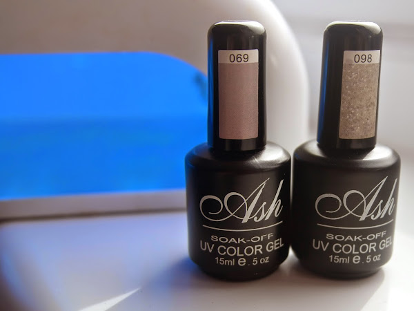 NOTD: Ash UV Gel Nails