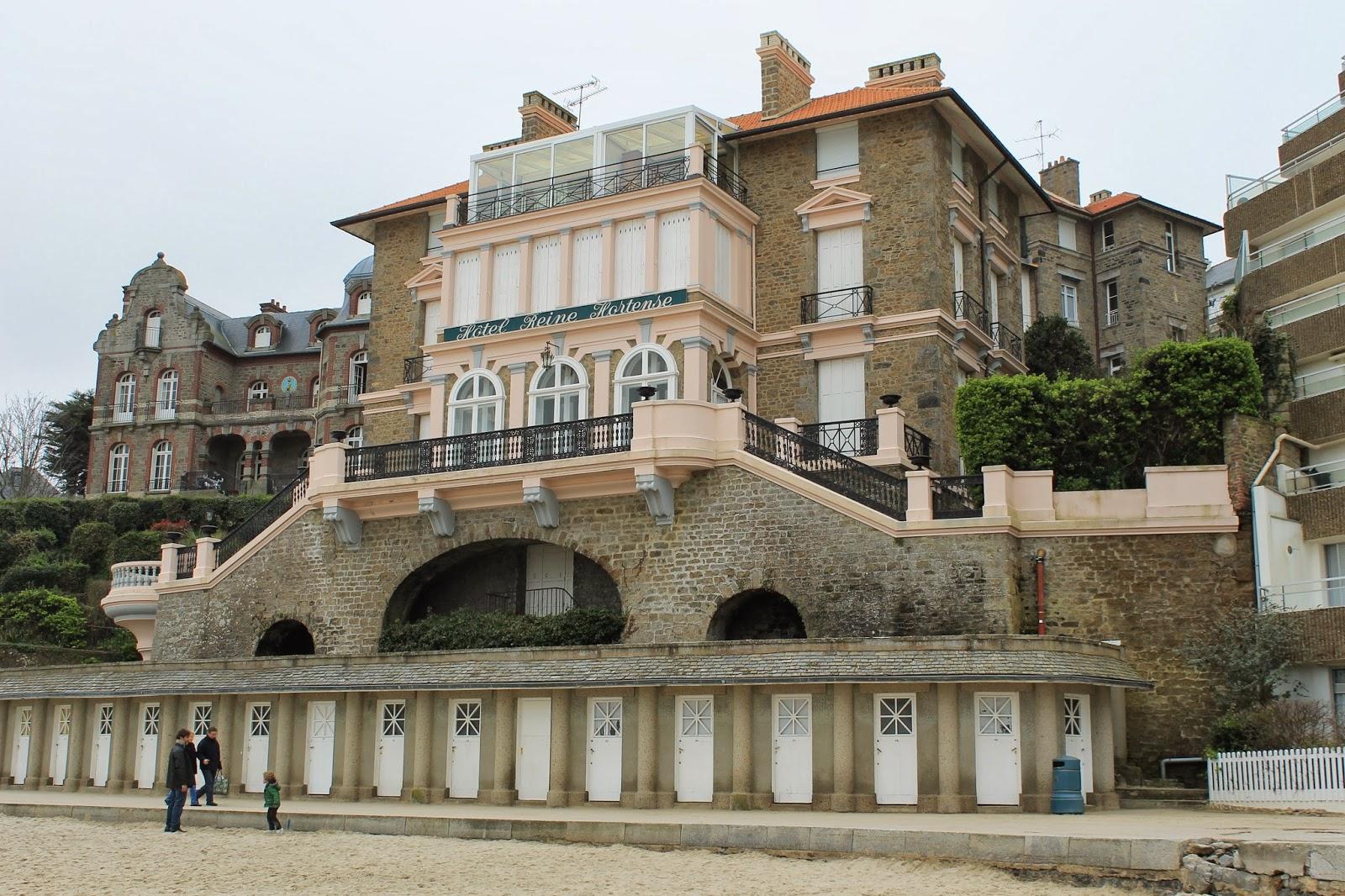 entrevoir l 39 architecture baln aire dinard villa reine hortense. Black Bedroom Furniture Sets. Home Design Ideas