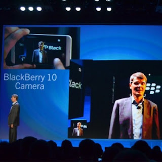 Kamera BlackBerry 10