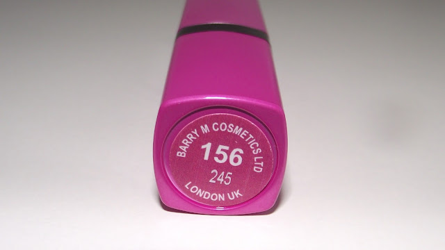 Barry M Ultra Moisturising Lip Paint Lipstick Review - 156 Vicious Violet