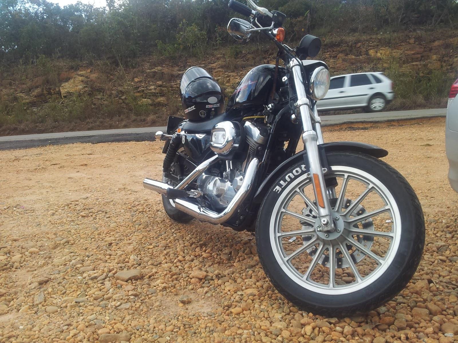 Avaliação e Teste na Harley Davidson Sportster 883 carburada ano 2004