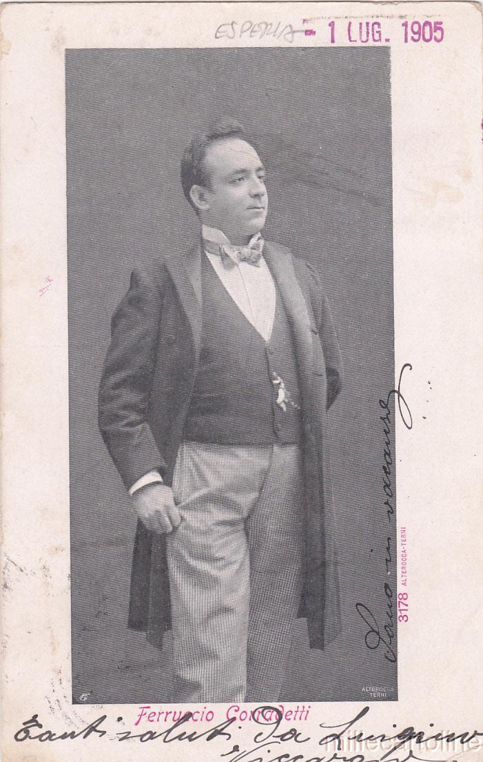 ITALIAN BARITONE FERRUCCIO CORRADETTI (1867-1939) 3 CD