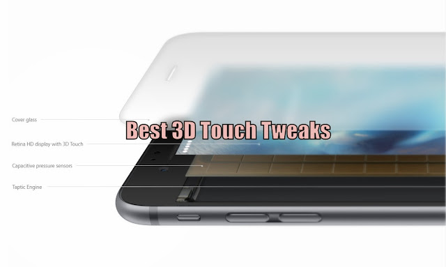 3D Touch is the best new killer features in iPhone 6S and iPhone 6S Plus which Apple had spent over 5 years to develop 3D Touch Functionality in it.