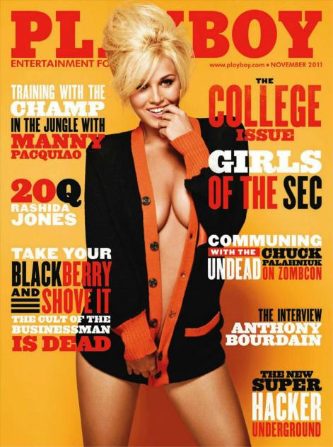 Revista: Playboy USA - Ciara Price [PDF | 95.72 MB]