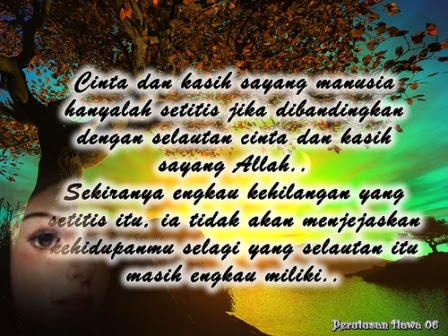 Kata Kata Mutiara Islami Tentang Cinta