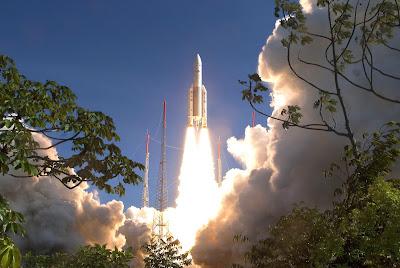 Lanzamiento de un Ariane 5