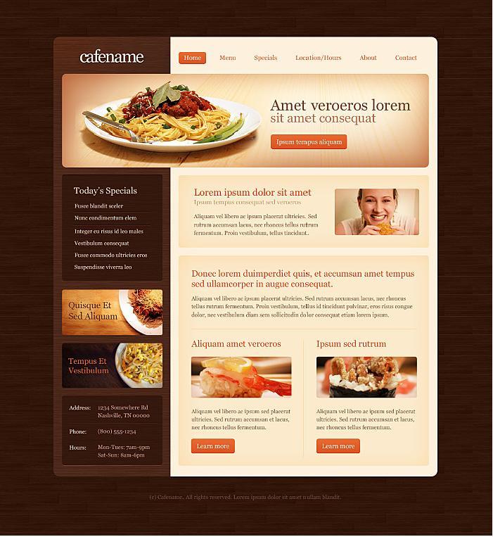 contoh desain web