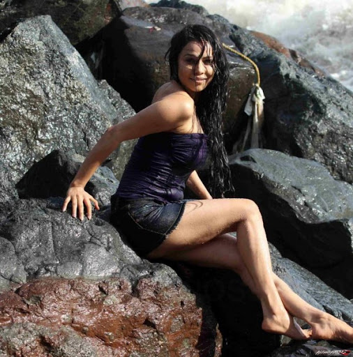 Nikita Rawal Hot Beach Photoshoot