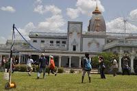 Devotees of Jagadguru Kripaluji Maharaj at Radha Madhav Dham Summer Camp 2011