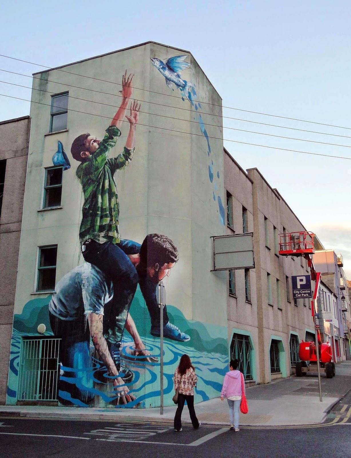 Fintan magee new mural limerick ireland streetartnews for Mural ireland