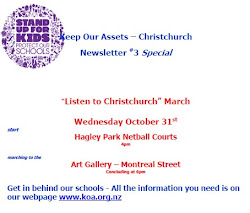 "Newsletter #3  ""Listen to Christchurch"" march Oct 2012"