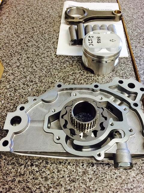 RB26 Engine Rebuild Oil Pump Piston