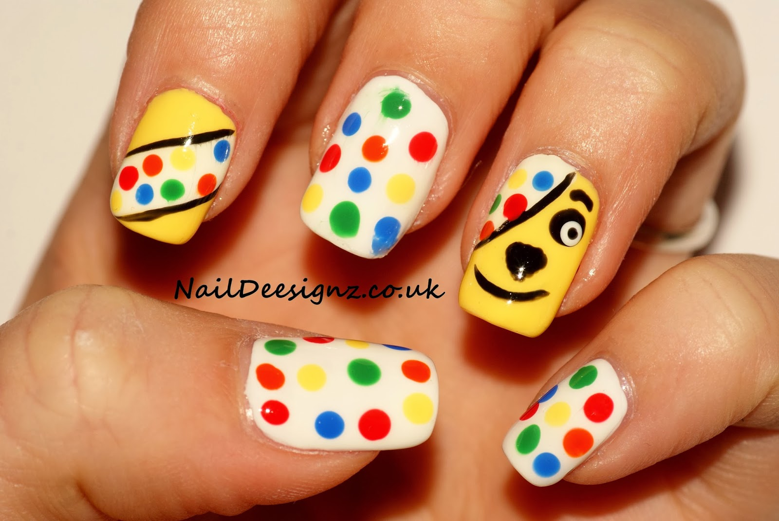 Naildeesignz Children In Need Nail Art