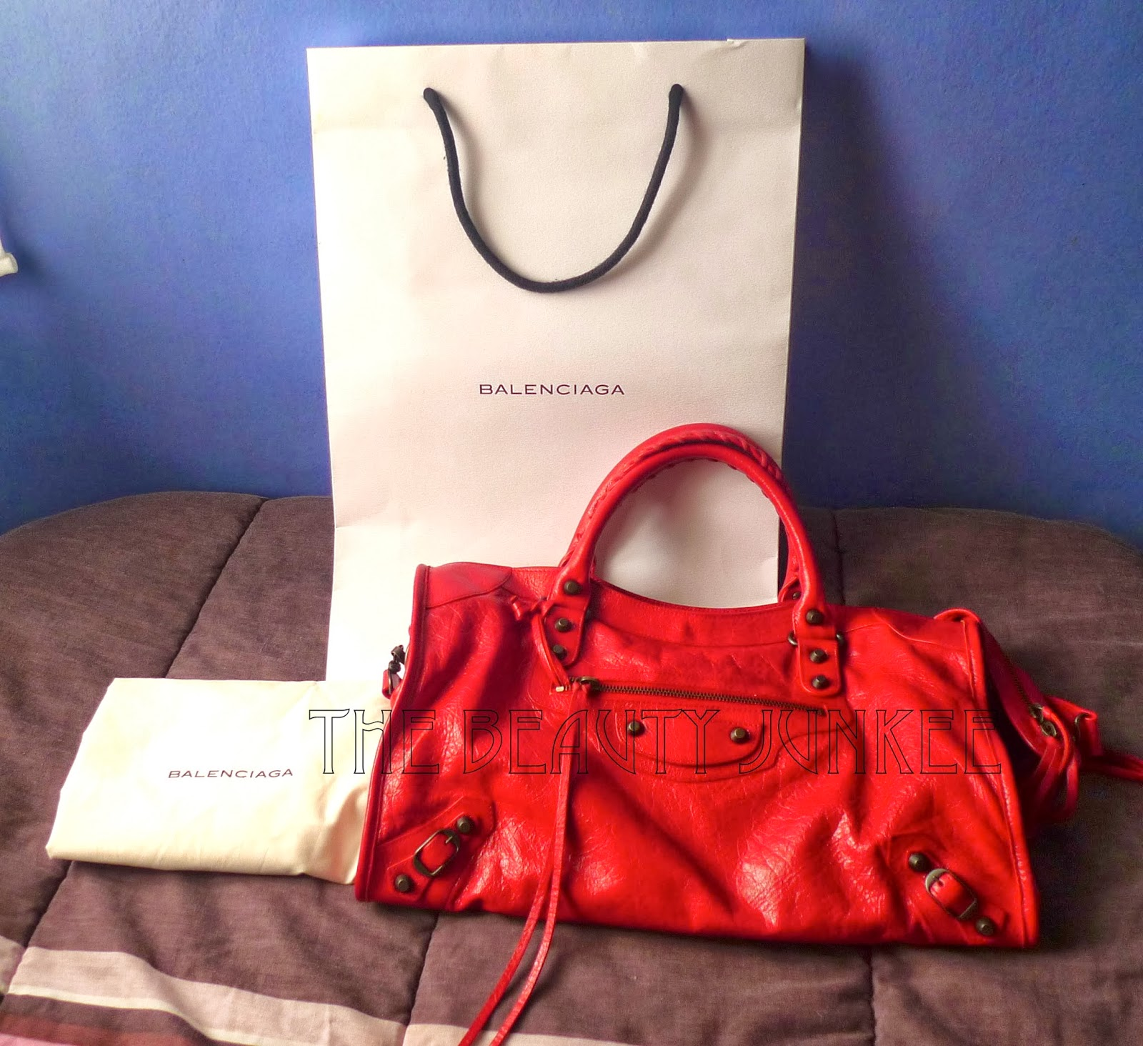Balenciaga Suede Bag Review