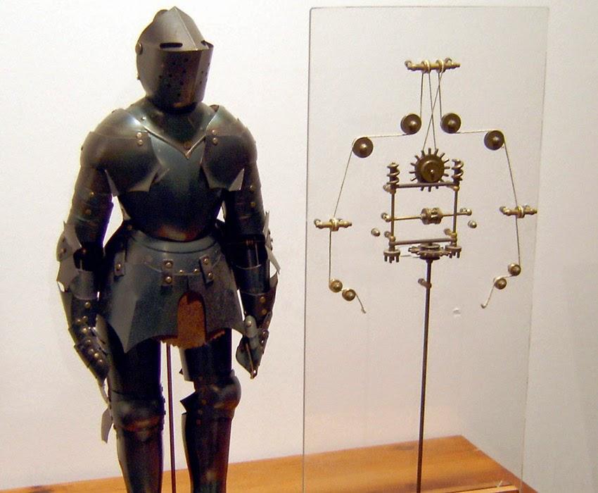 Leonardo Da Vinci's Ingenious Inventions - Robotic Knight