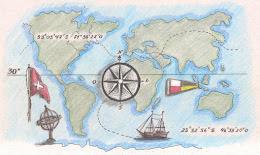 """.Acesse aqui o blog """"Os Mapas da Clau""""..."""