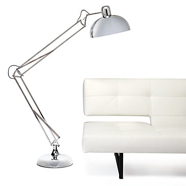 Z GALLERIE SPRING FLOOR LAMP