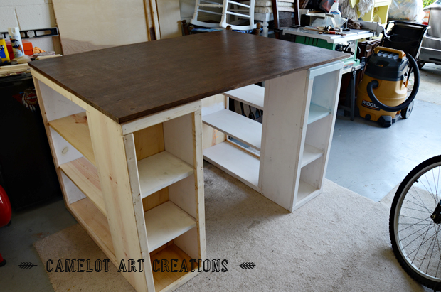 how to build a craft table