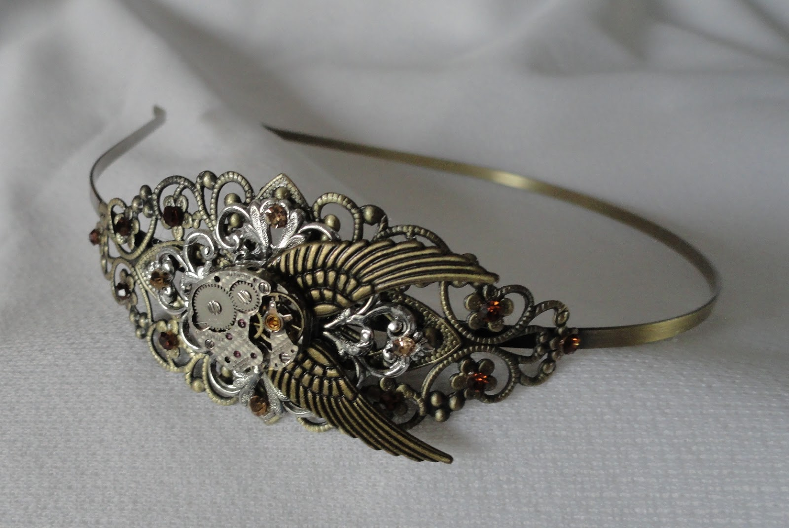 Sparkling Sky Steampunk Hair Accessories