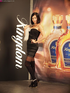 4 Kim Ha Yul for Kingdom Whisky-very cute asian girl-girlcute4u.blogspot.com