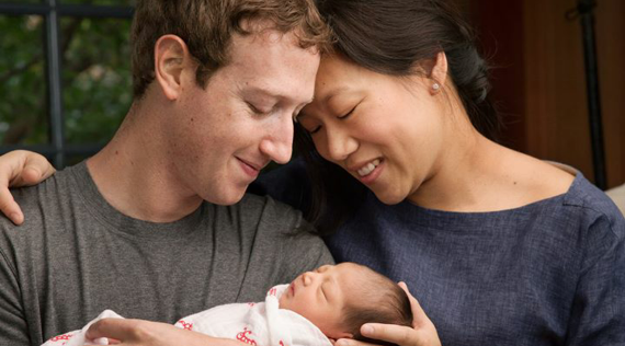 Mark Zuckerberg and wife welcome daughter