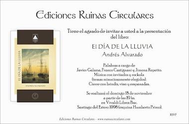 PRESENTACIÓN DE EL DÍA DE LA LLUVIA DE ANDRÉS ALVARADO