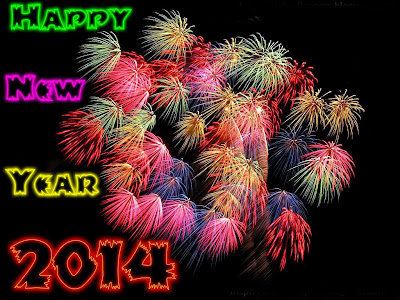 Happy New Year 2014 Wallpapers Photo Cards for  Classmates
