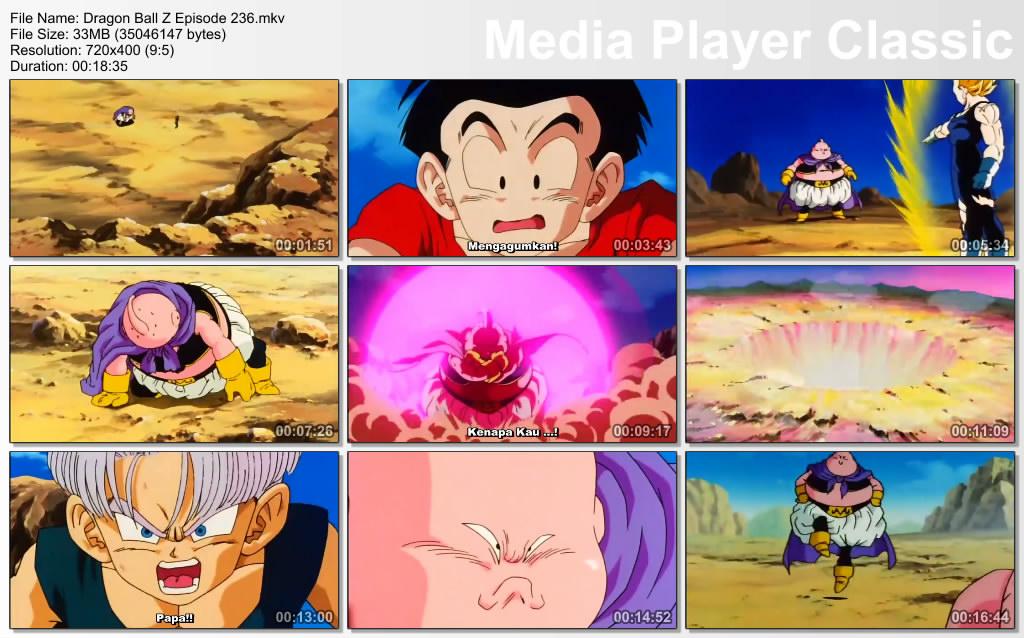 Download Film / Anime Dragon Ball Z Majin Buu Saga Episode 236 Bahasa