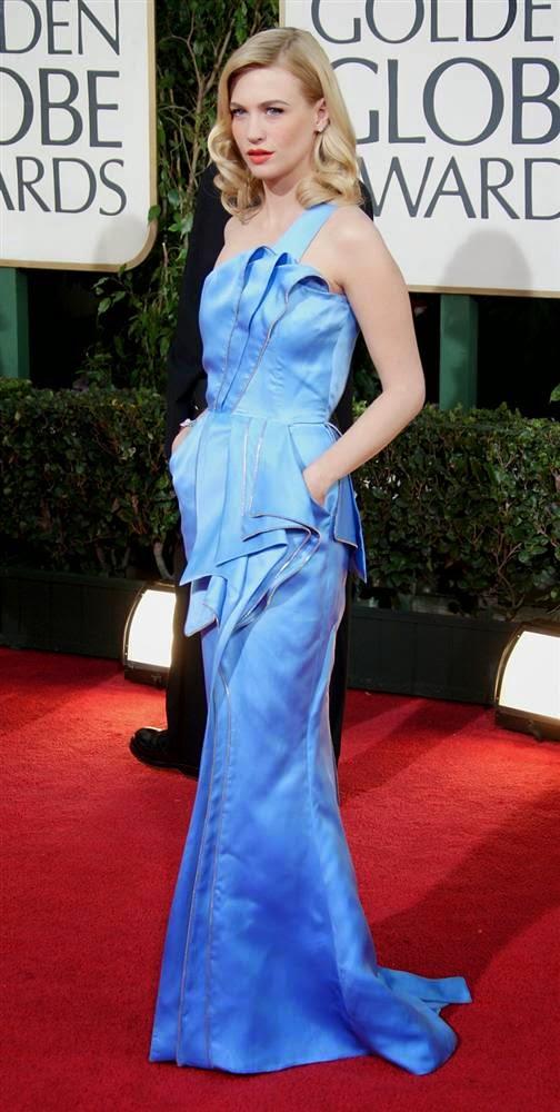 Дженьюэри Джонс играет в фильме «Безумцы», Лучшие и худшие наряды знаменитостей 2014
