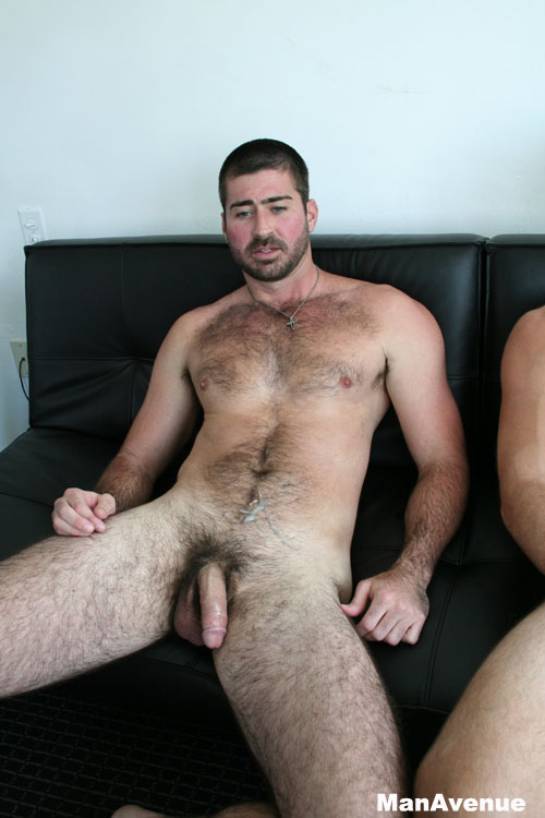 With you Naked hairy men cumming