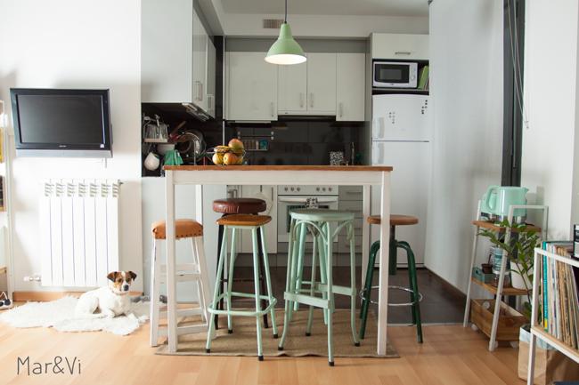 Tavolo alto cucina con sgabelli design casa creativa e mobili