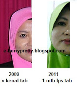 My own testimoni using tab & tabita skincare