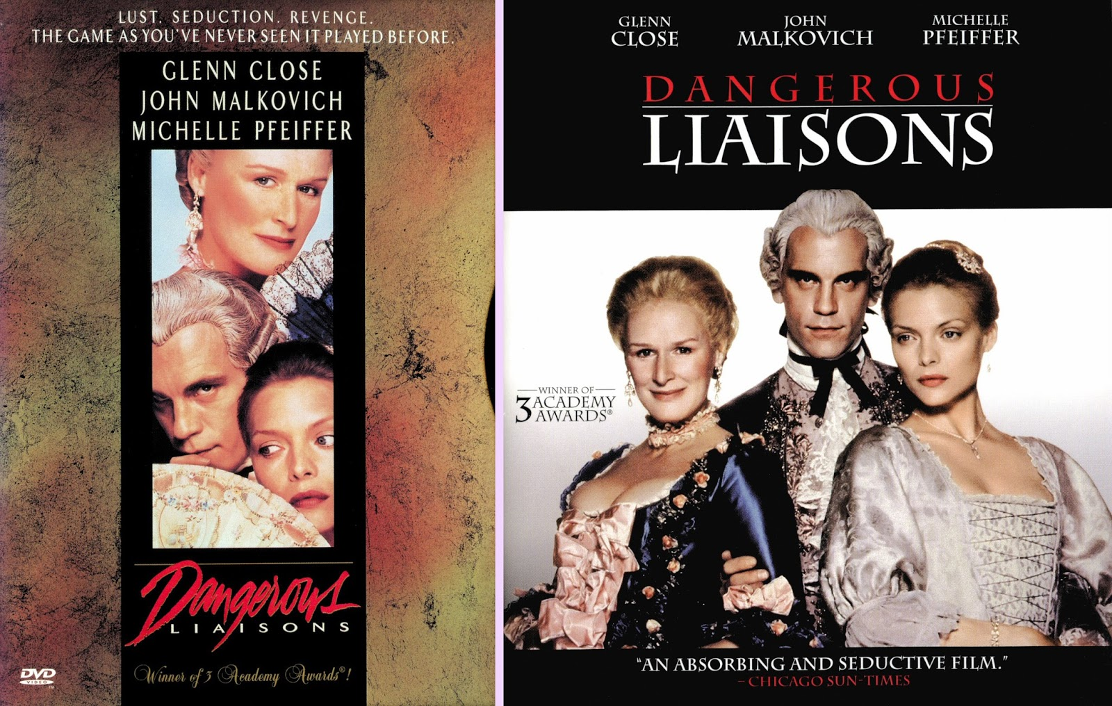 a comparison of cruel intentions and dangerous liasons Dangerous games of love in the films cruel intentions versus dangerous liaisons would you like to play a game this game involves passion, deceit, lies, and love.