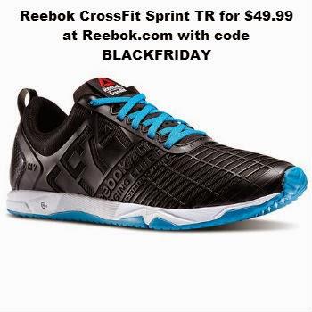 Reebok CrossFit Sprint TR for $49.99 at Reebok.com with code BLACKFRIDAY