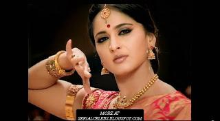 Anushka in Silk Saree