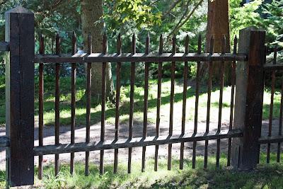 Staket staket rosor : Drömmen om ett staket