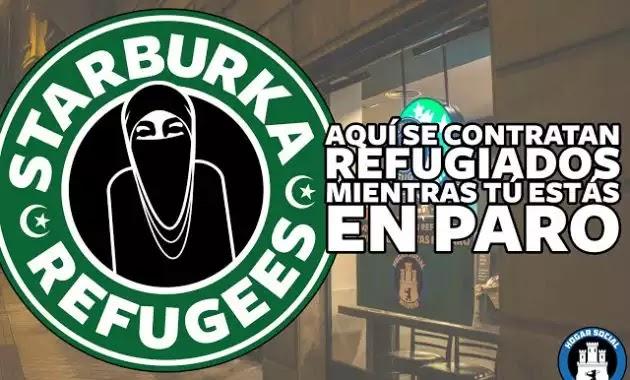 """Όλα τα Starbucks στη Μαδρίτη μετονομάστηκαν σε """"Starburka""""- τώρα ξέρετε σε ποιους πεινάτε τον καφέ σας!! VIDEO"""