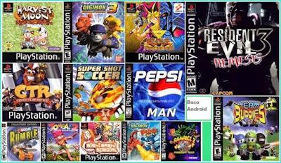 Kumpulan Game PSX/PS1 Untuk Android dan PC Lengkap