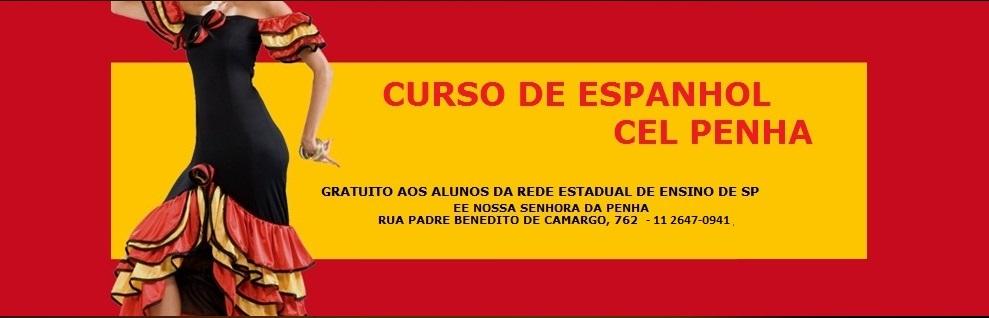 CURSO DE ESPANHOL DO CEL PENHA