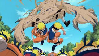 Naruto VS Garra
