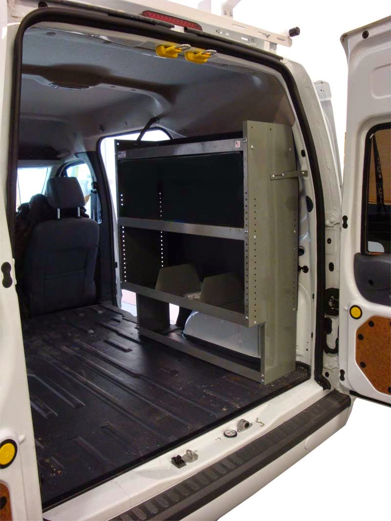 van interior shelving ladder racks partitions flooring. Black Bedroom Furniture Sets. Home Design Ideas