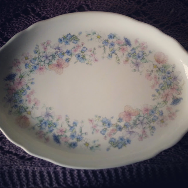 Wedgwood angela trinket tray