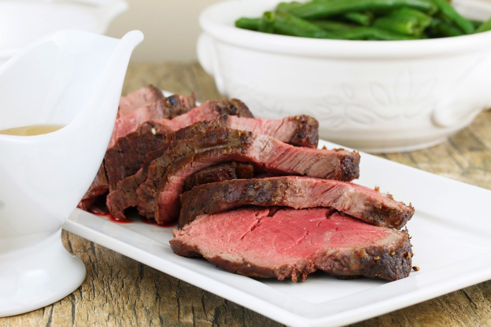 The Stay At Home Chef: Roasted Beef Tenderloin with Garlic Brown ...