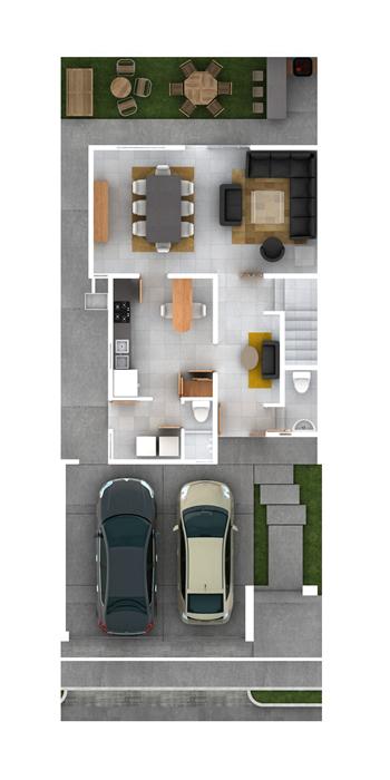 Planos de casas y plantas arquitect nicas de casas y for Bano 6 metros cuadrados