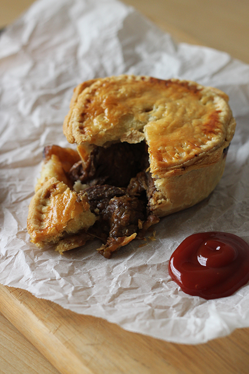 food on paper: Beef & Guinness Pies