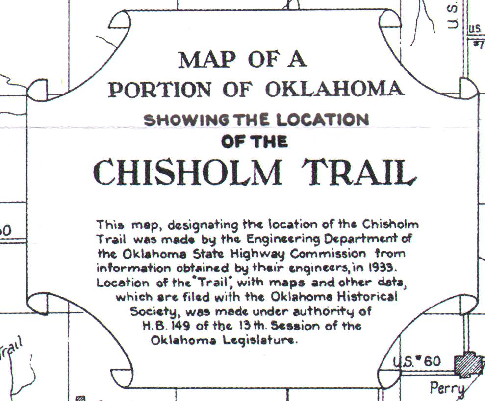 The Fort Worth Gazette Whoa Turns Out That Jesse Chisholm Really - Chisholm trail map