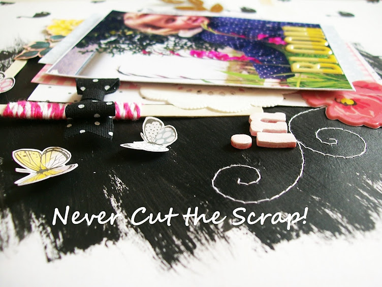 Never Cut the Scrap!