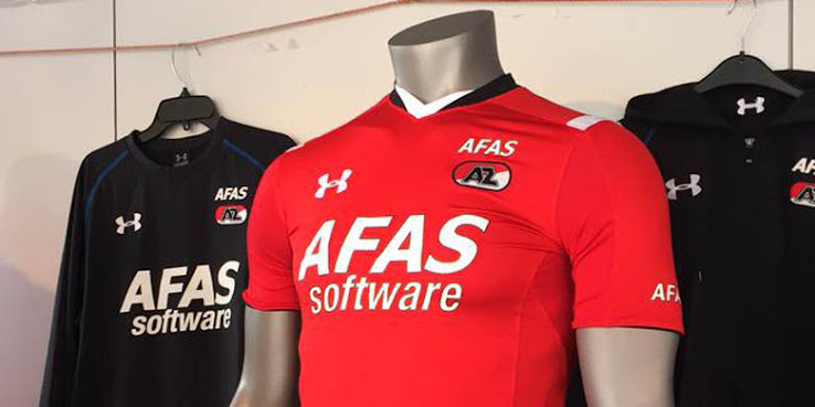 Nueva camiseta titular Under Armour del AZ Alkmaar
